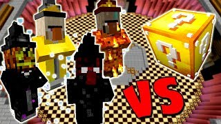 DEUSES DAS BRUXAS VS. LUCKY BLOCK (MINECRAFT LUCKY BLOCK CHALLENGE WITCH)