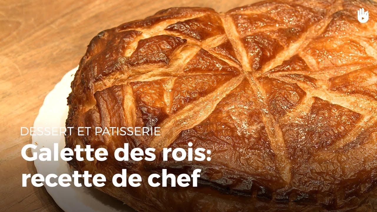 Galette des rois recette de chef recettes de tartes for Galette des rois decoration