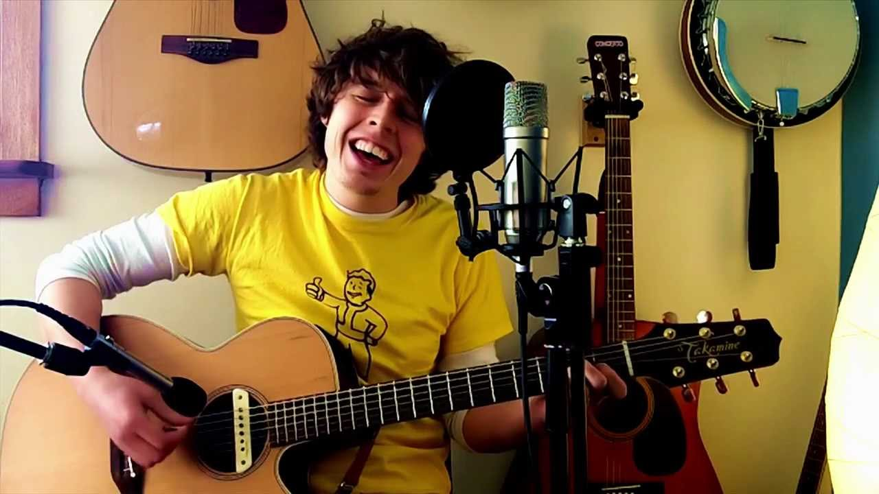 Elliott Smith Needle In The Hay Acoustic Cover Youtube