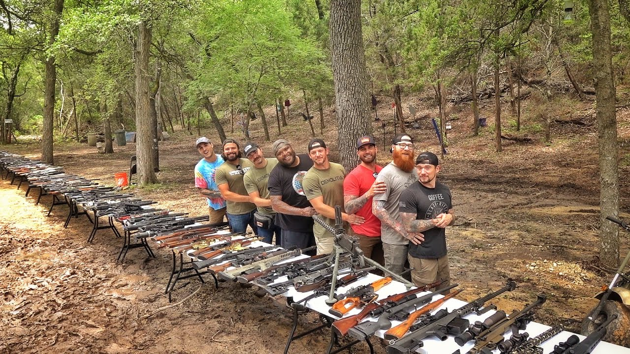 Demo Ranch's Whole Arsenal in One Epic Video... 10 MILLION SUBSCRIBER SPECIAL!!!!