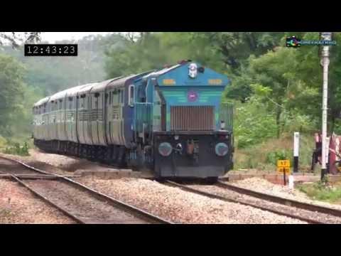 Bangalore's Little Triple Line Section: Hardcore Diesels