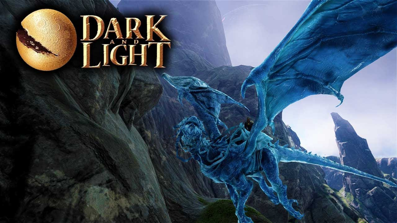 Dark and Light - Taming A Frost Dragon Solo! (Blue Ice ...