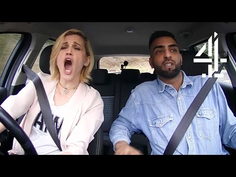 Ashley Roberts Has Some Serious Road Rage | Driven to Distraction