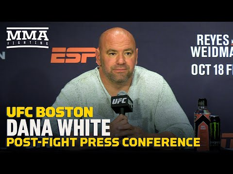 Dana White on Maycee Barber: 'She's a gangster…I love everything about this girl'