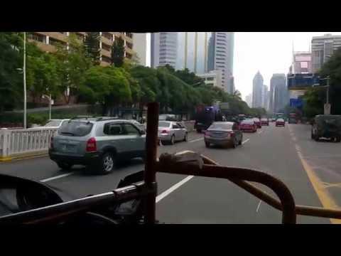 China Shenzhen street ride
