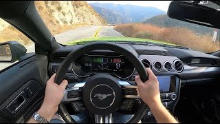 2020 Ford Mustang EcoBoost High Performance Package 6-Speed - POV Test Drive (Binaural Audio)