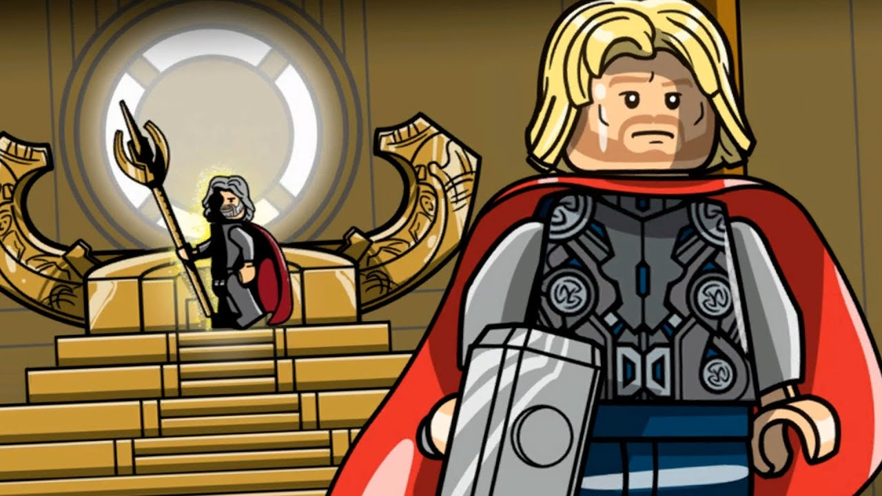 lego marvel's avengers - thor: the dark world - lost in the aether