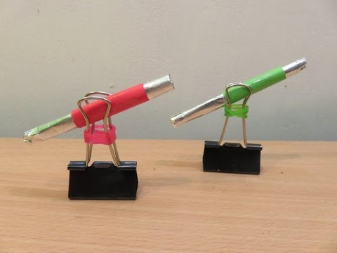 How to Make a Nano Cannon ( Home Made Nano Weapon ) - Easy Airsoft Gun Tutorials