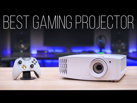The Best 4K Gaming Projector - Optoma UHD50X Review