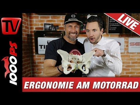 1000PS LIVE - Ergonomie am Motorrad - mit Tibor und NastyNils