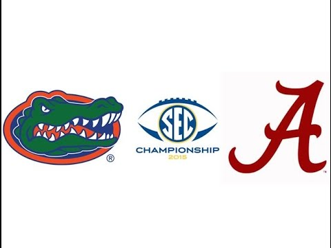 2015 SEC Championship, #18 Florida vs #2 Alabama (Highlights)