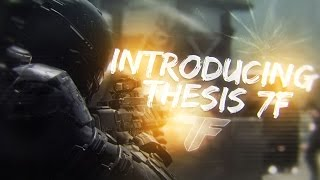 Introducing Thesis 7F by Shaw