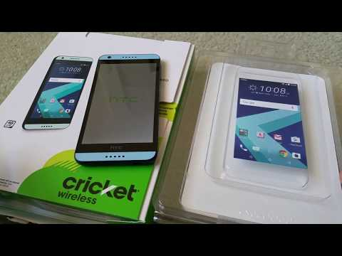 Unboxing Latest HTC Desire 550 4G LTE Cricket Wireless Smartphone Full HD 2017
