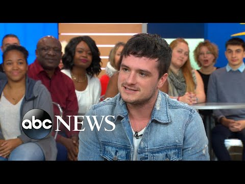 Josh Hutcherson dishes on 'Future Man' live on 'GMA'