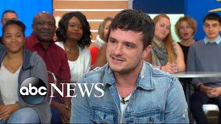 Josh Hutcherson dishes on 'Future Man' live on 'GMA'