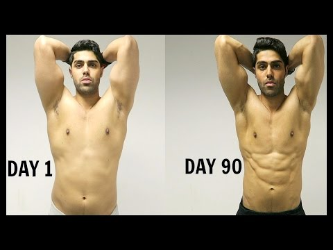 INCREDIBLE 90 DAY BODY TRANSFORMATION FAT TO SHREDDED