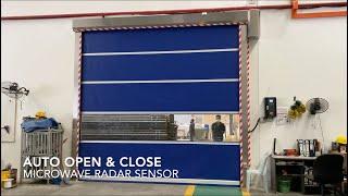 STAR ROLLING High Speed PVC Rapid Shutter Door