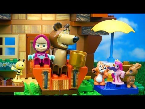 Masha e orso tutti gli episodi mascia e orso si for Blaze cartoni in italiano