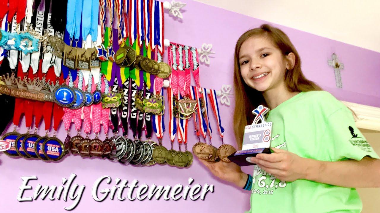 Emily S Regional Medals Amp Trophy Gymnastics Level 8