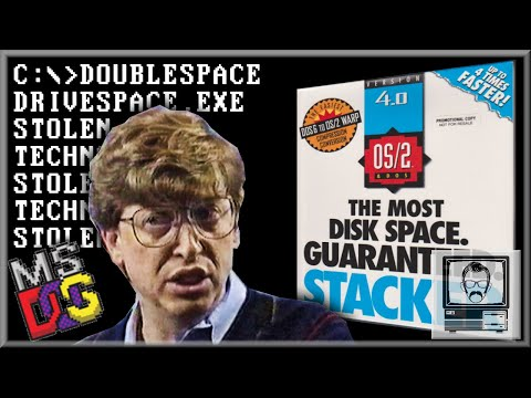 Did Microsoft Steal Disk Compression? | Nostalgia Nerd