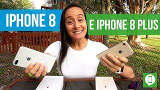 iPhone 8 e iPhone 8 Plus - Primeiras Impressões e Comentários | Marília Guimarães