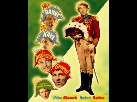 EL INSPECTOR GENERAL (The Inspector General, 1949, Full Movie, Spanish, Cinetel)