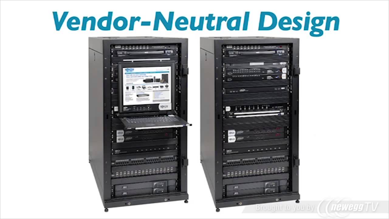 tripp lite sr25ub 25u rack enclosure server cabinet