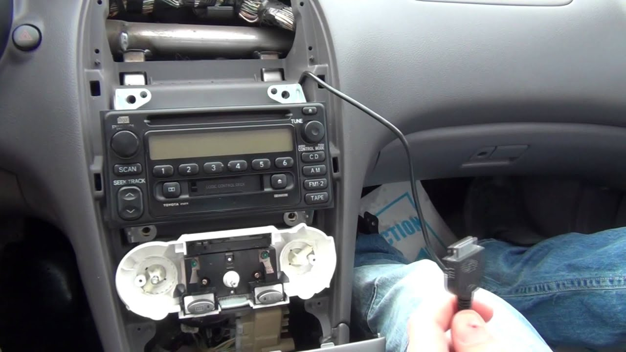 Auxiliary hookup for car