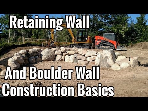 Retaining Wall Construction And Boulder Wall Contractor in Grand Traverse County, Mi