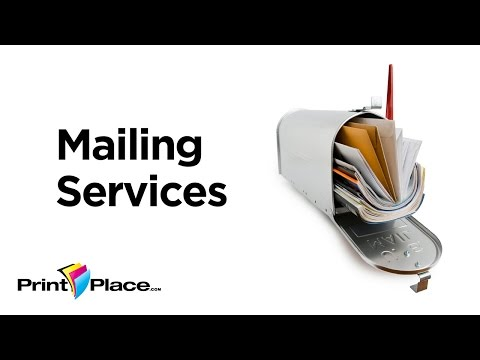 Mailing Services with PrintPlace.com