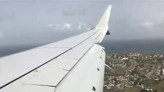 NEW American Airlines 737-8Max Landing In Barbados[4K]