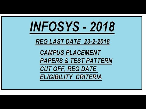 infosys online written test papers Please send me last 10 years papers also send me any material for english to prepare for english written test 350 last years infosys placement paper infosys.