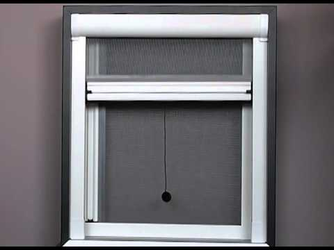 Safety screens retractable insect and fly screen for Retractable window fly screens