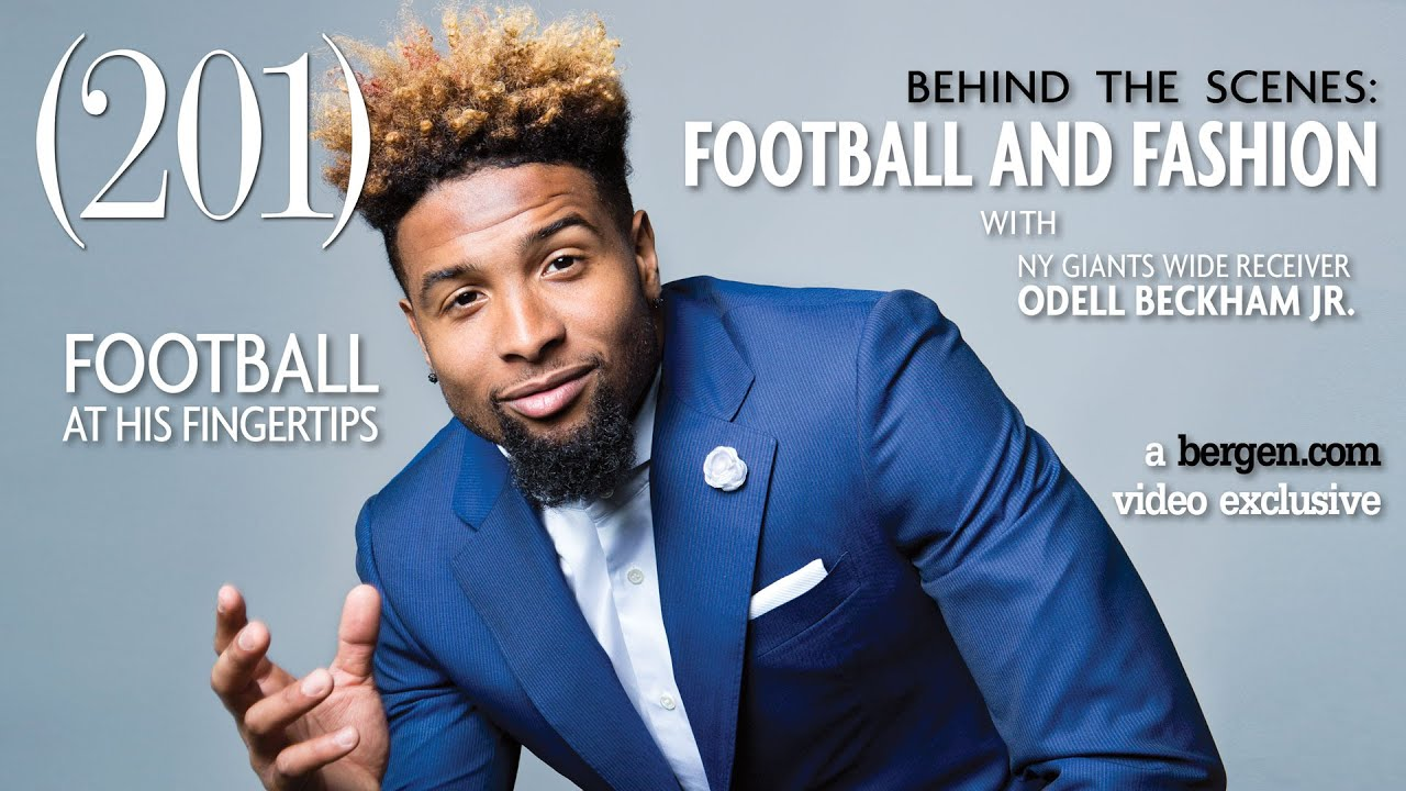 Odell Beckham Jr Photoshoot 2017