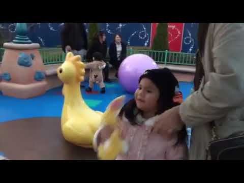 Aichanel. Disney Land. 12-2017. Chiba Japan