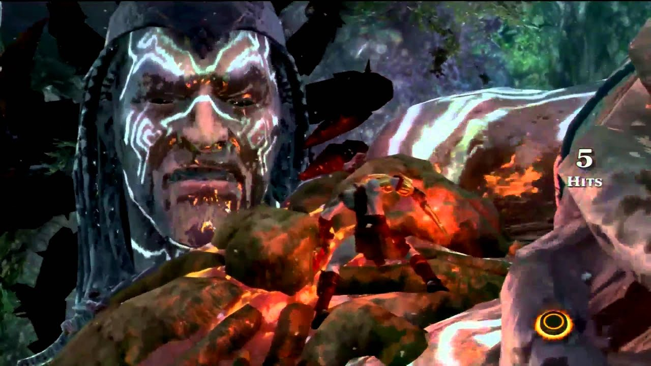 how to use head of helios god of war 3