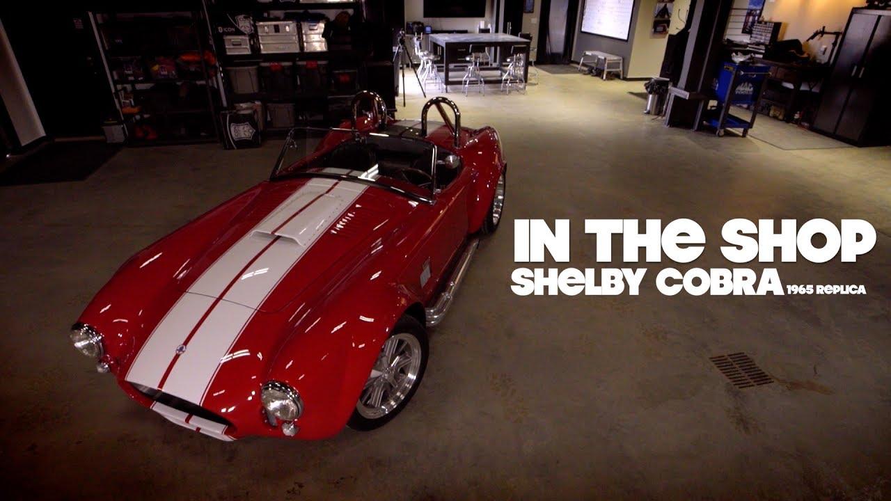 In The Shop  Kevin Daviss  Shelby Cobra Replica Walk Around