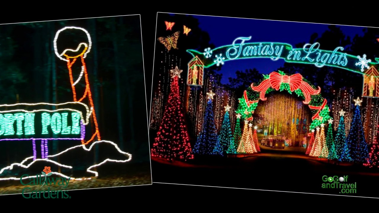 Callaway Gardens Fantasy In Lights YouTube