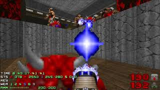Doom 2 SlaughterMAX Level 20 UV [TAS] with 106% in 41:30 (Open your mouth)