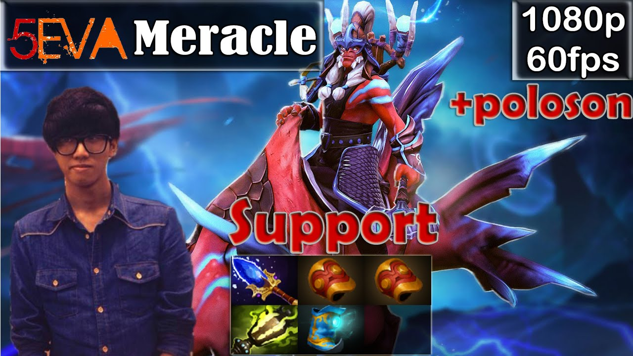 meracle 5eva disruptor support pro gameplay with poloson sf