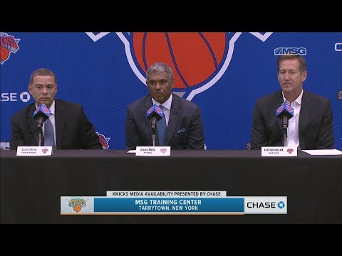 New York Knicks Introduce Scott Perry as General Manager | Full Press Conference | MSG Networks