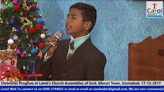 Worship by Daud Shahbaz at Christmas Program