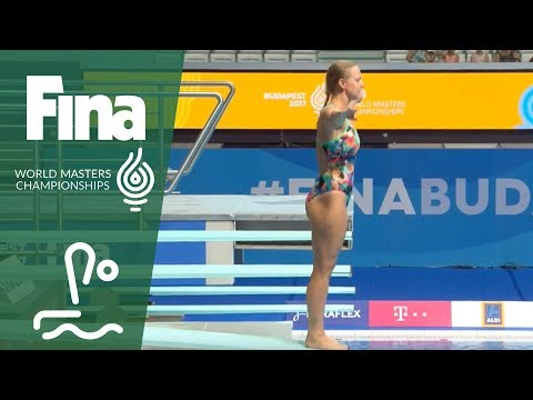 RE-LIVE - Diving Day 3: 3m Springboard | FINA World Masters Championships 2017 - Budapest