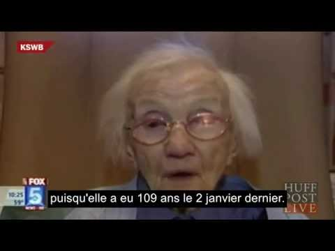 109-Year-Old Woman: Avoid Men And You'll Live Longer (VOSTFR)