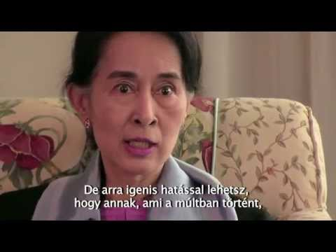 Interview with Aung San Suu Kyi on Fear and Freedom