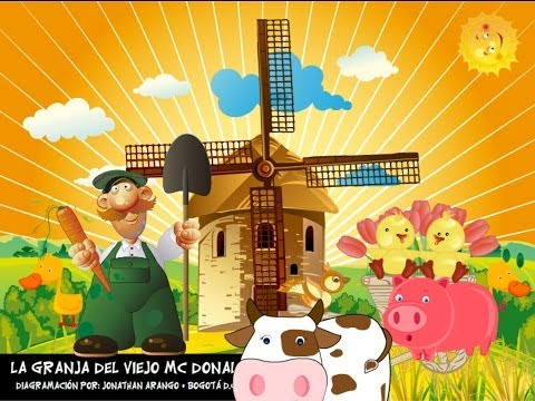 La Granja del Viejo Mc Donald - HD CON LETRA Travel Video