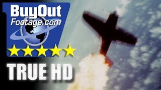 HD Historic Stock Footage WWII Color - KAMIKAZE ATTACK ON U.S. TASK FORCE!
