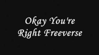 SwagzZ-Okay You're Right (Freeverse)