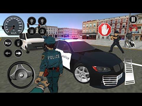 Gerçek Türk Polis Oyunu Simülatörü V2 // Real Police Car Driving V2 - Android Gameplay FHD