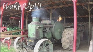 One Angry Rumely Starting Attempt